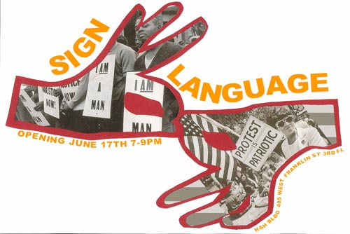 sign language exhibition