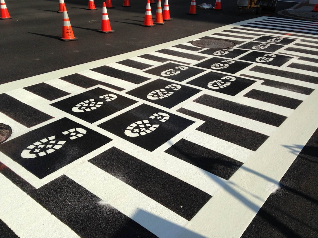 Hopscotch Crosswalk Colossus boots progress