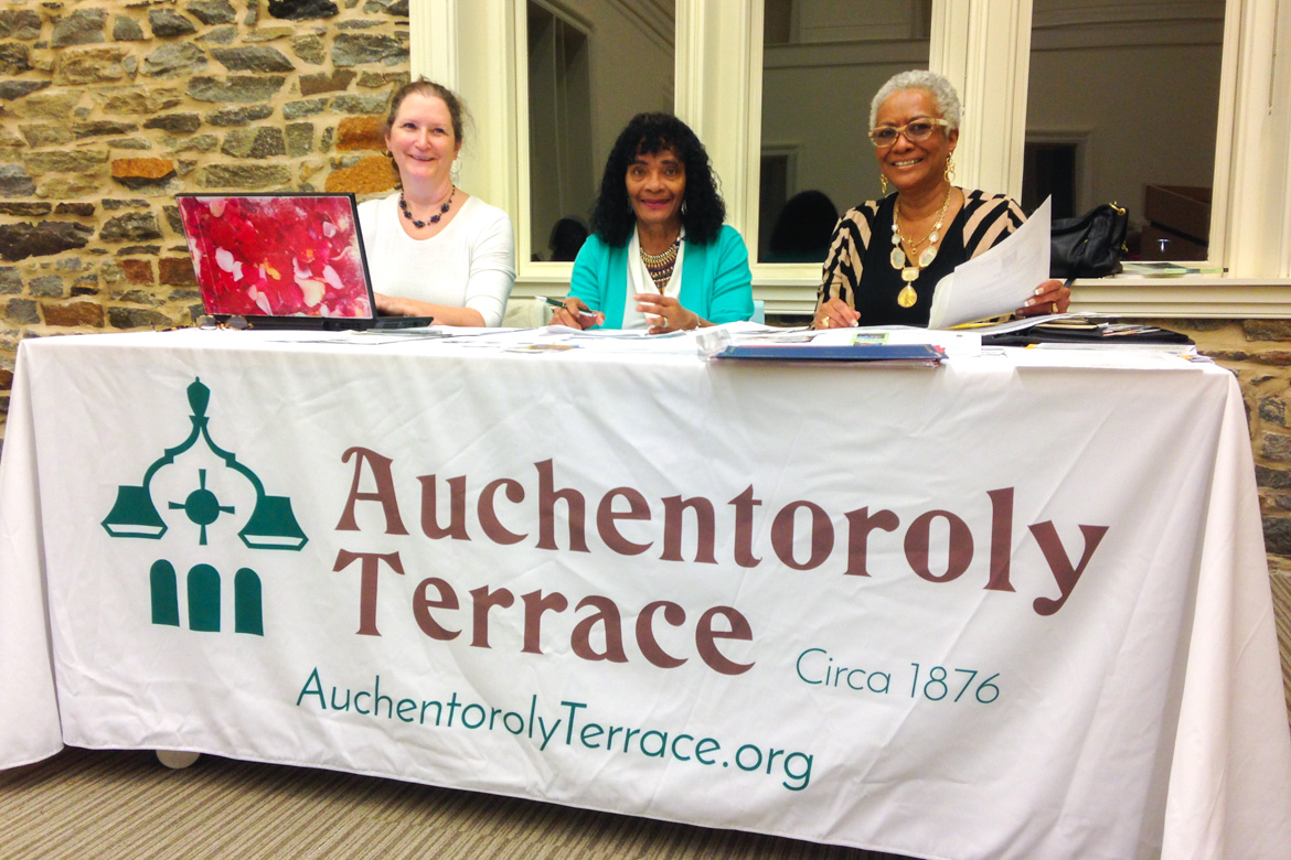 Auchentoroly Terrace table cloth