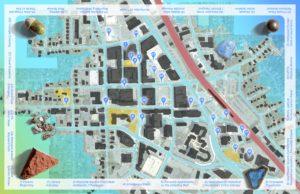 New Public Sites Rockville Map