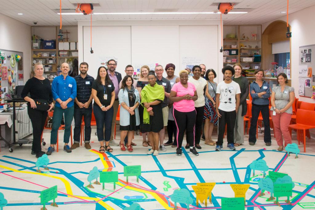 BMA Visioning Home Mapping group shot