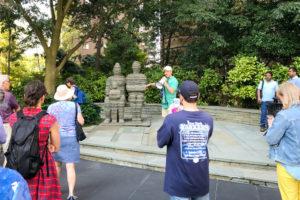 170801 Rosslyn Public Art Walking Tour the Family