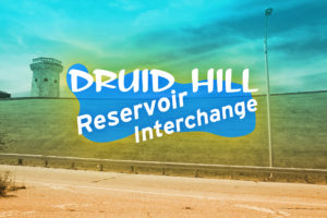 New Public Sites Druid Hill Reservoir Interchange