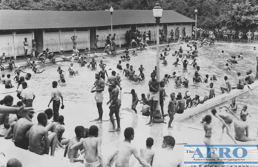 Druid Hill Park Pool No. 2 undated Afro American Newspaper