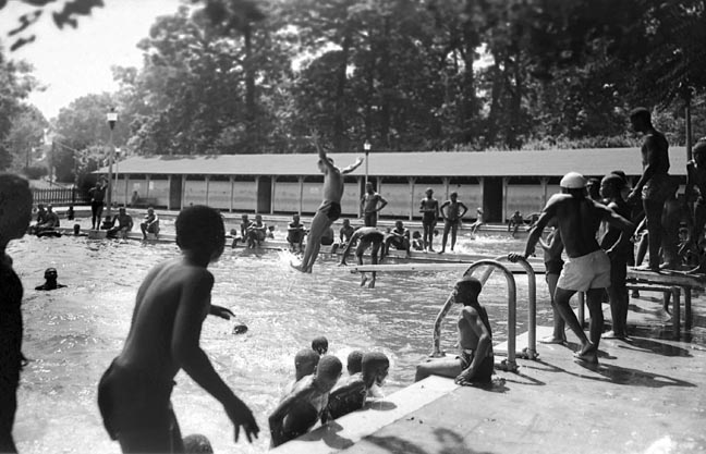 Druid Hill Park Swimming Pool August 1948 Paul Henderson