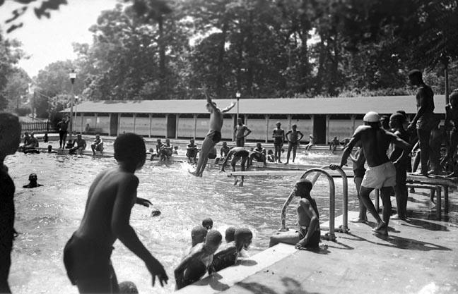 Druid Hill Park Swimming Pool August 1948 Paul Henderson