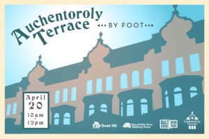 Auchentoroly Terrace by Foot walking tour
