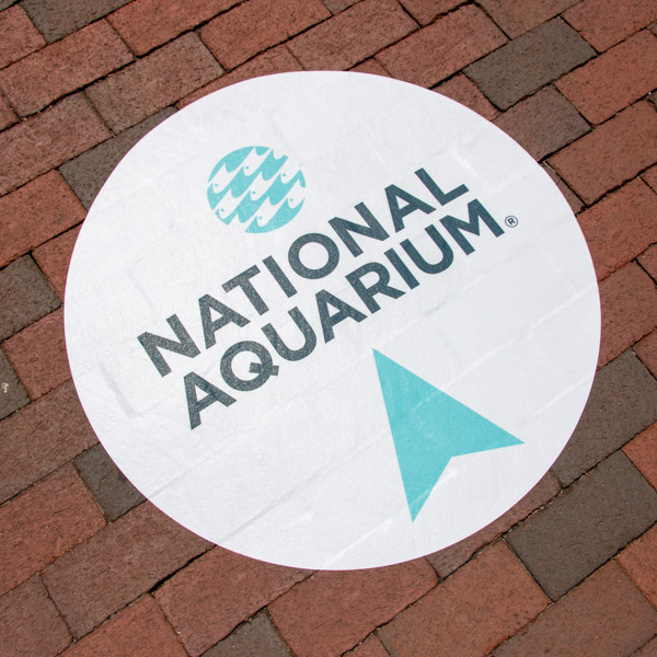 National Aquarium Parking Wayfinding | Graham Projects