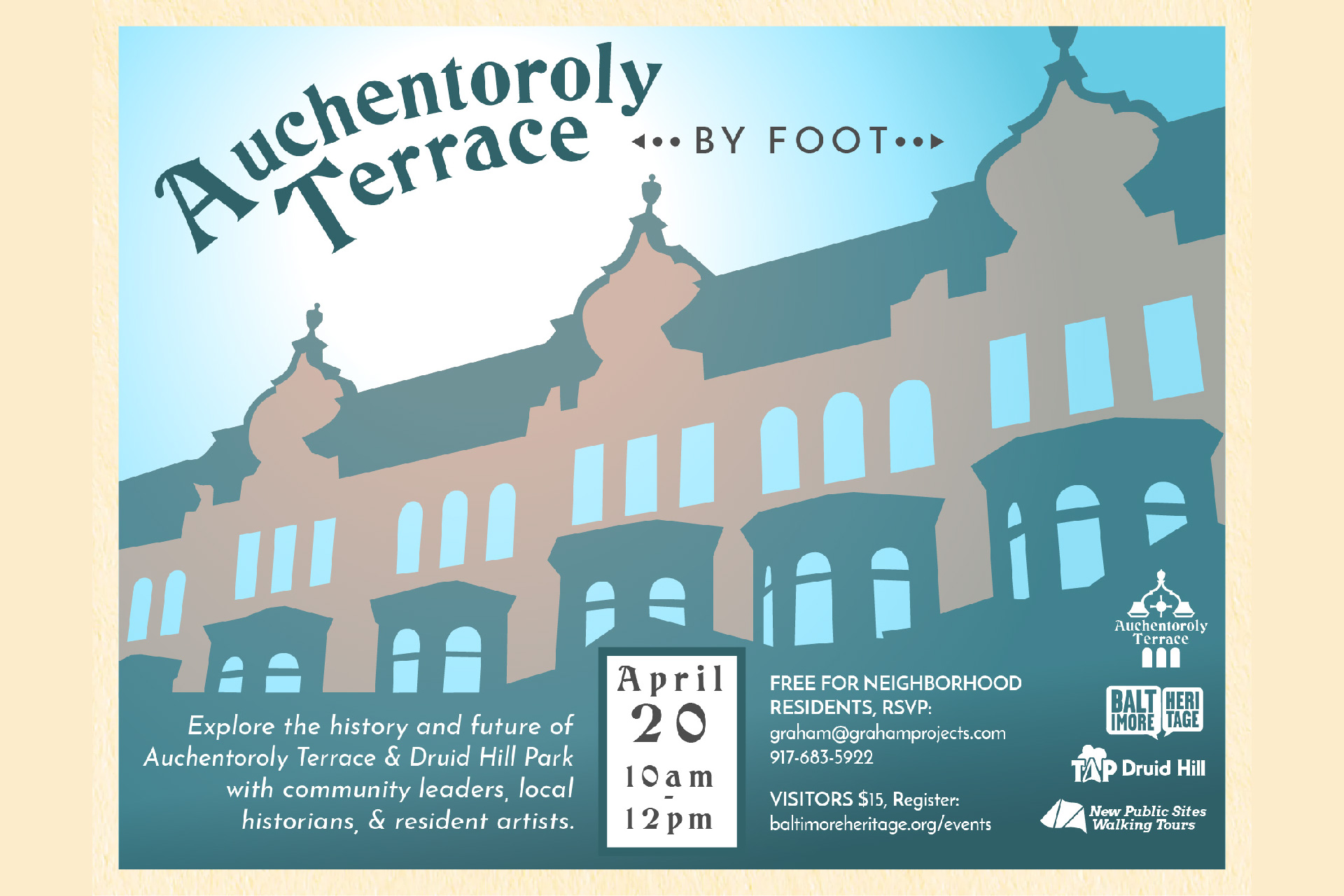 Auchentoroly Terrace by Foot flyer