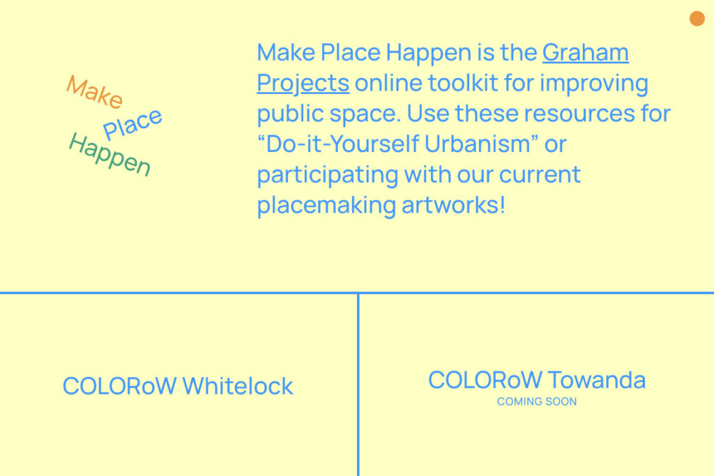 Make Place Happen website