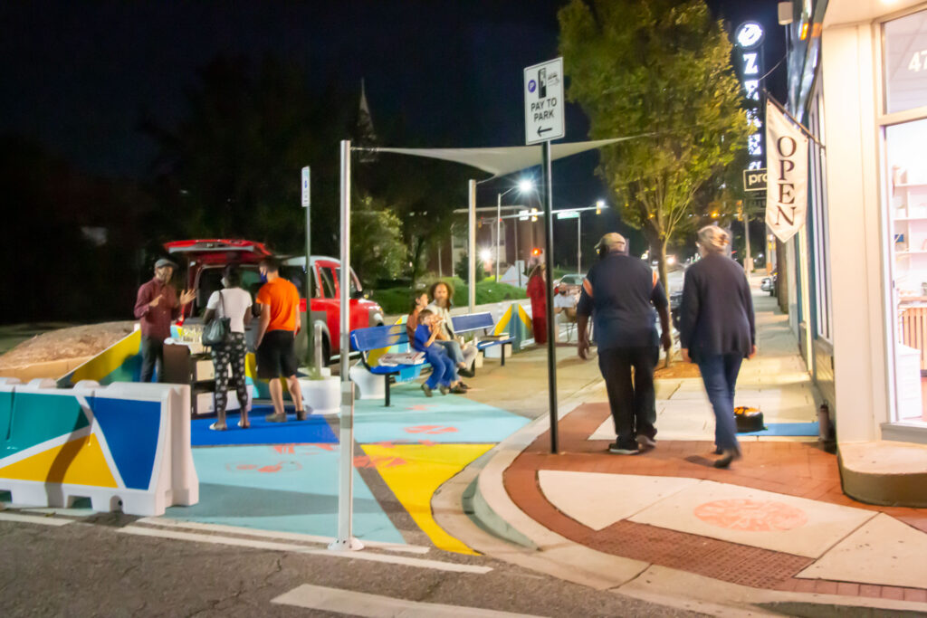 Curbside Commons First Friday evening gathering